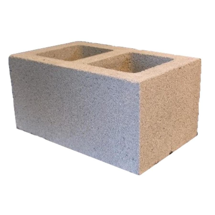 Normal Weight Concrete Block (Common: 10-in x 8-in x 16