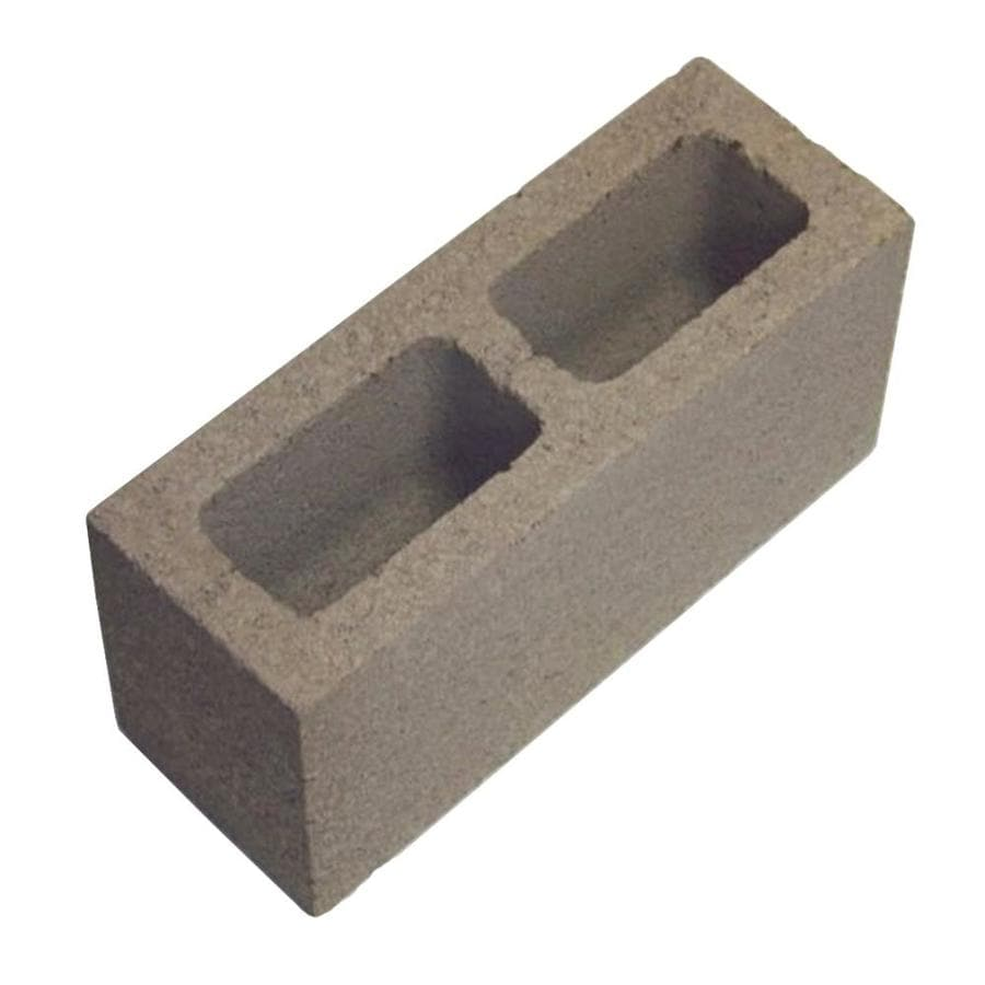 Oldcastle Solid Cap Concrete Block (Common: 6-in x 8-in x 16-in; Actual: 5.5-in x 7.5-in x 15.5-in)