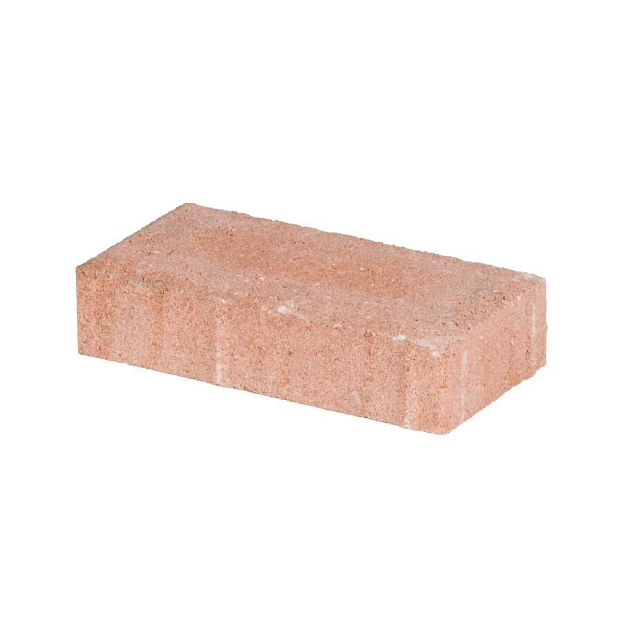 Holland Peach Patio Stone (Common: 4-in x 8-in; Actual: 3.8-in x 7.7-in)