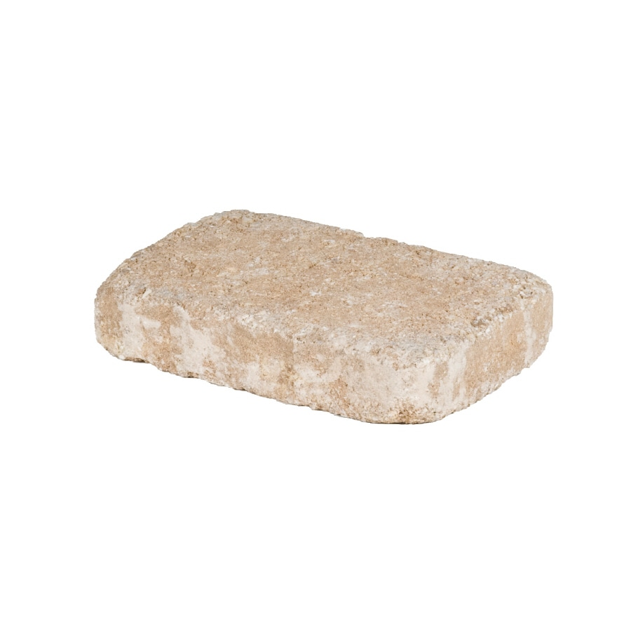allen + roth Luxora Sand Tan Countryside Patio Stone (Common: 6-in x 9-in; Actual: 5.8-in H x 8.8-in L)