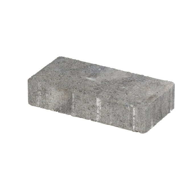 Holland Charcoal Concrete Patio Stone Common 4 In X 8 In