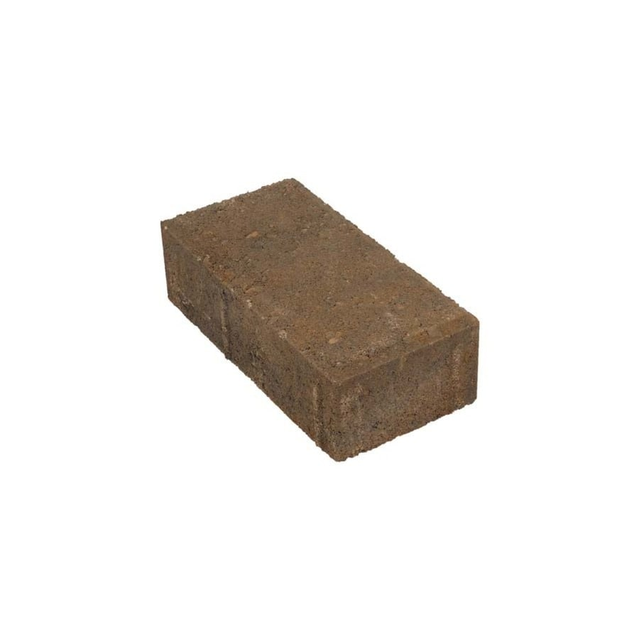 Holland Westerwood Blend Paver (Common: 4-in x 8-in; Actual: 3.9-in x 7.7-in)