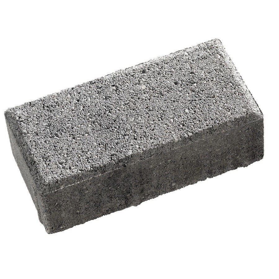 Holland Charcoal Paver (Common: 4-in x 8-in; Actual: 3.88-in x 7.75-in)