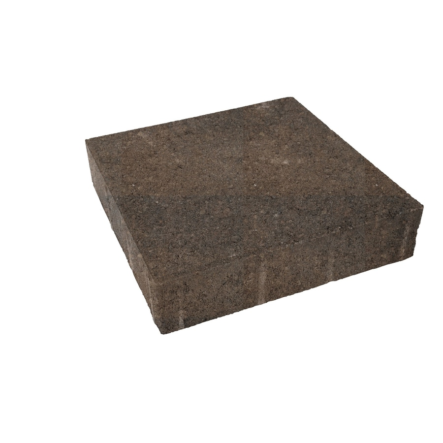 River Street Trinity Paver (Common: 10-in x 10-in; Actual: 9.8-in x 9.8-in)