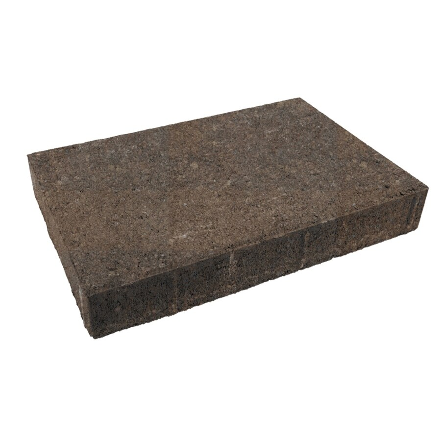 Oldcastle Trinity River Street Paver (Common: 10-in x 15-in; Actual: 9.8-in x 14.7-in)