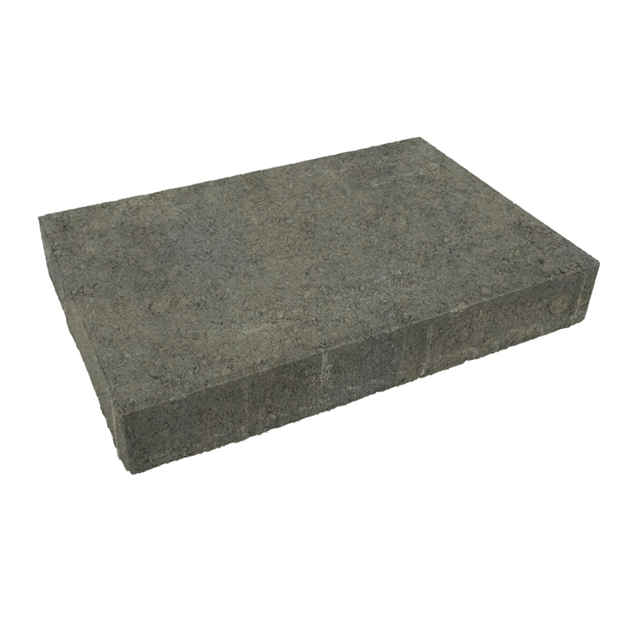 Belgard Trinity Sable Paver (Common: 5-in x 10-in; Actual: 4.9-in x 9.8-in)