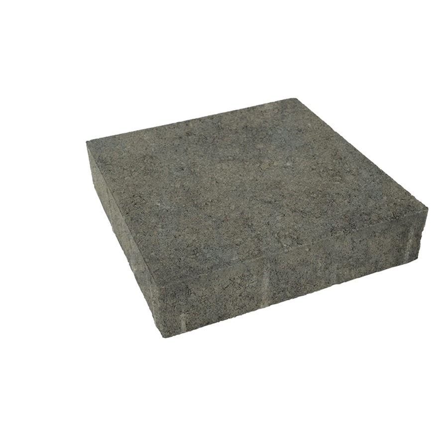 Belgard Trinity Sable Paver (Common: 10-in x 10-in; Actual: 9.8-in x 9.8-in)