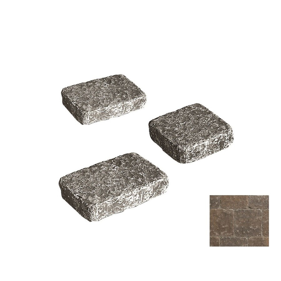 Belgard Bergerac Cotswold Mist Paver (Common: 7-in x 7-in; Actual: 7.01-in x 7.01-in)