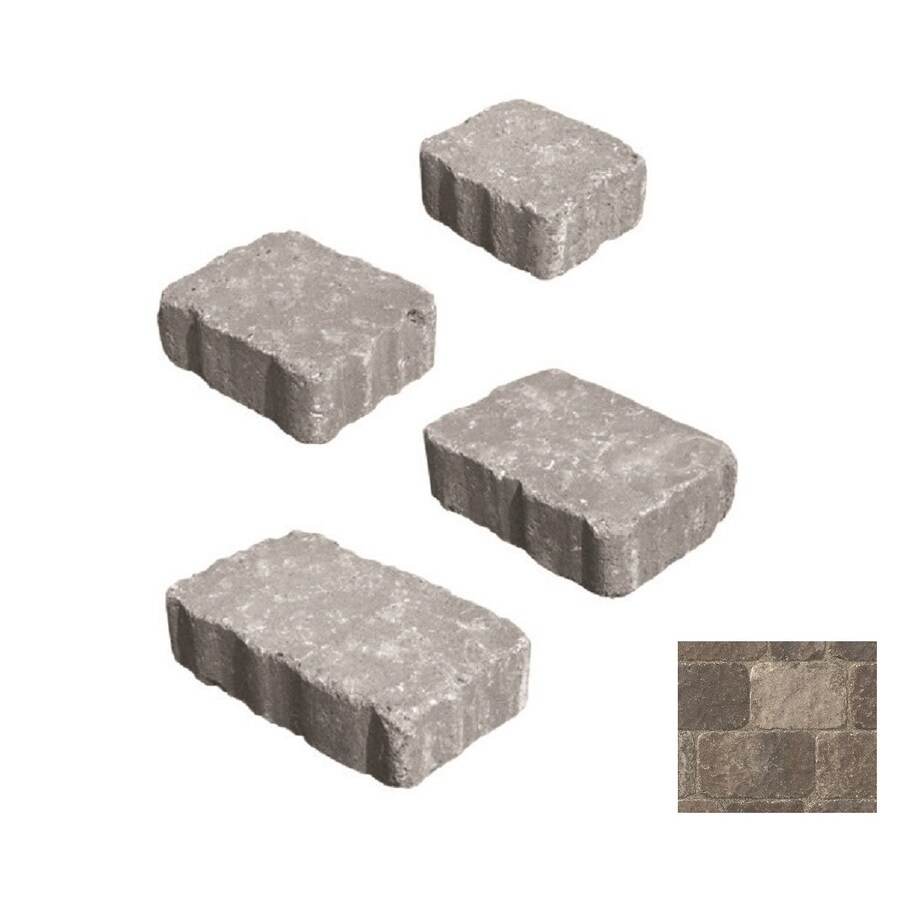 Belgard Bergerac Napoli Paver (Common: 7-in x 7-in; Actual: 7.01-in x 7.01-in)