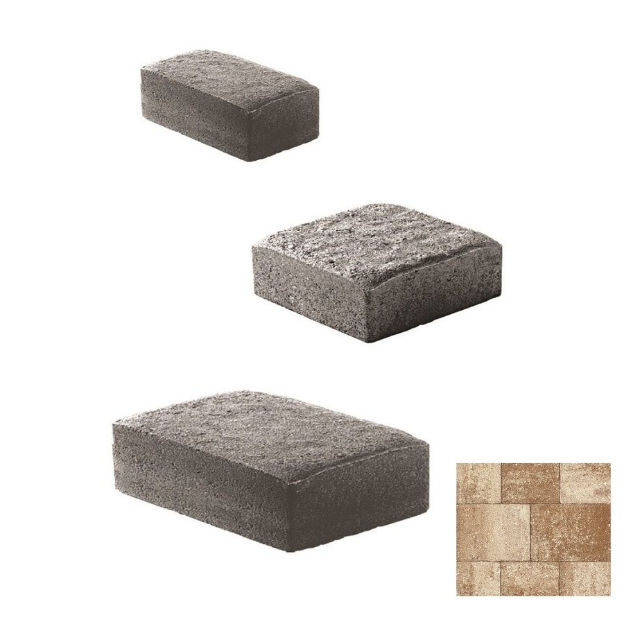 Oldcastle Cambridge Cobble Amaretto Paver (Common: 11-in x 11-in; Actual: 10.65-in x 10.65-in)
