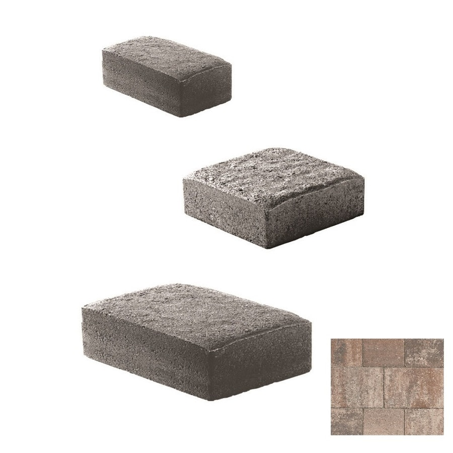 Oldcastle Cambridge Cobble Napoli Paver (Common: 6-in x 6-in; Actual: 6-in x 6-in)