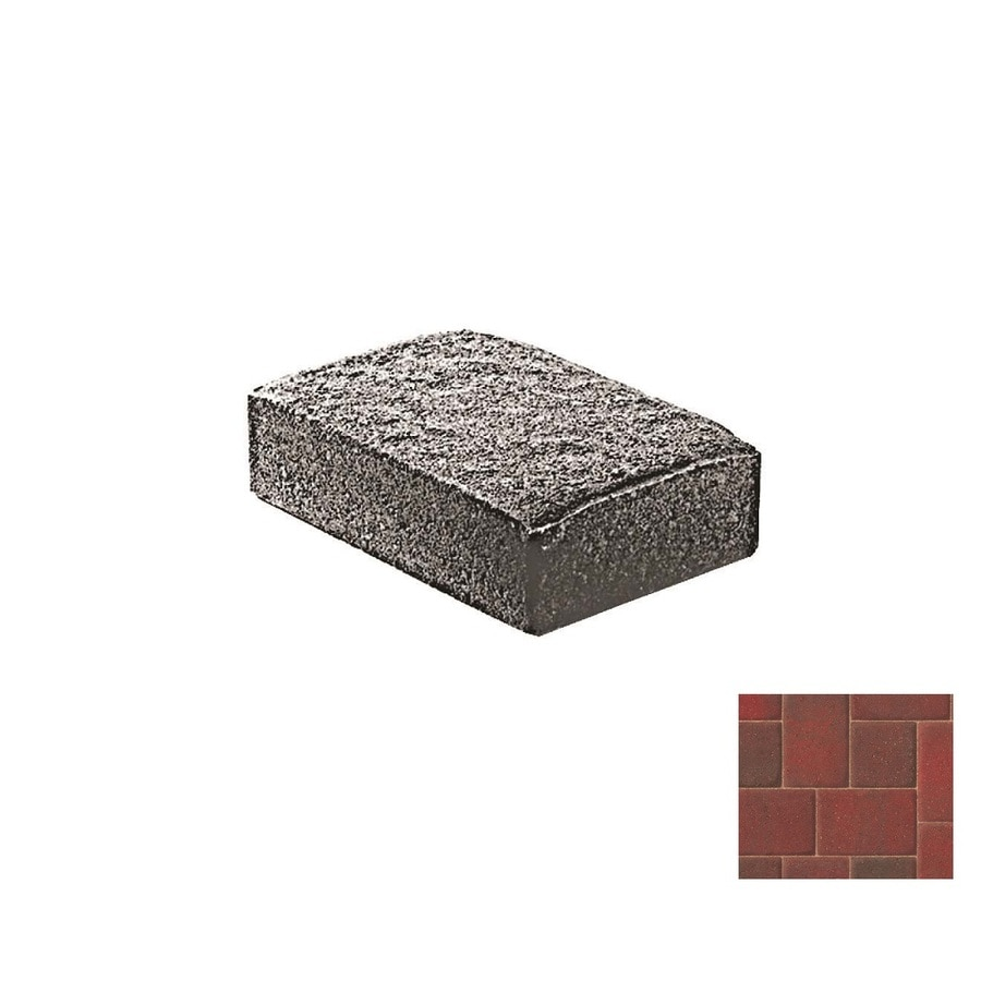 Oldcastle Cambridge Cobble Antiqued Paver (Common: 6-in x 6-in; Actual: 6-in x 6-in)