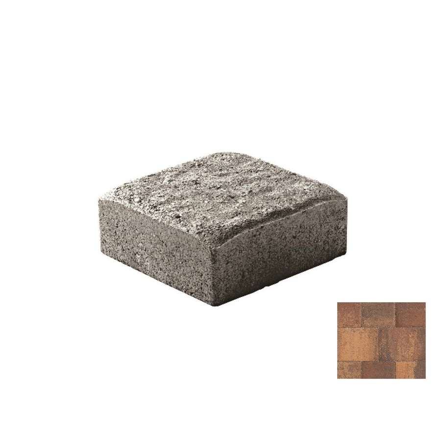 Oldcastle Cambridge Cobble Harvest Blend Paver (Common: 6-in x 6-in; Actual: 6-in x 6-in)