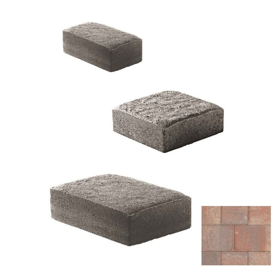 Oldcastle Cambridge Cobble Bentcreek Paver (Common: 6-in x 6-in; Actual: 6-in x 6-in)