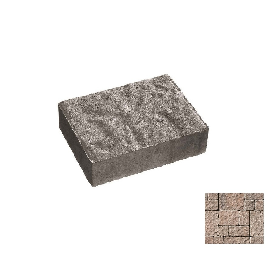 Oldcastle Charleston Tumbled Charcoal Paver (Common: 6-in x 6-in; Actual: 6-in x 6-in)