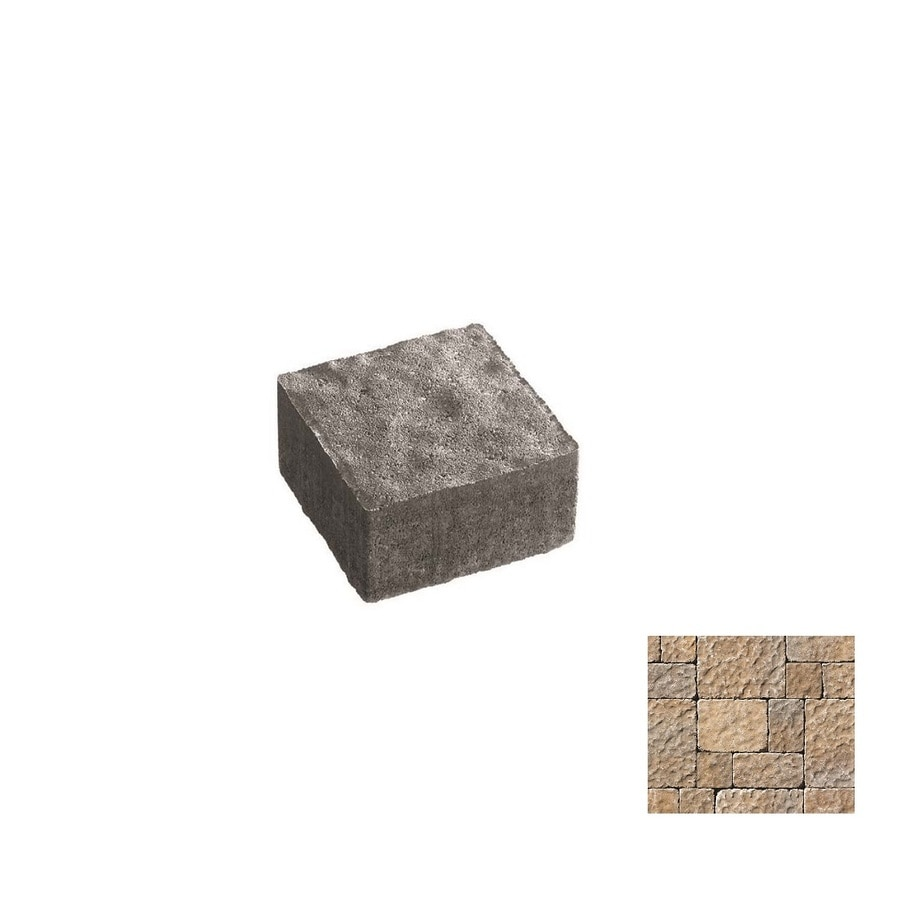 Oldcastle Charleston Tumbled Northwoods Paver (Common: 6-in x 6-in; Actual: 5.5-in x 5.5-in)