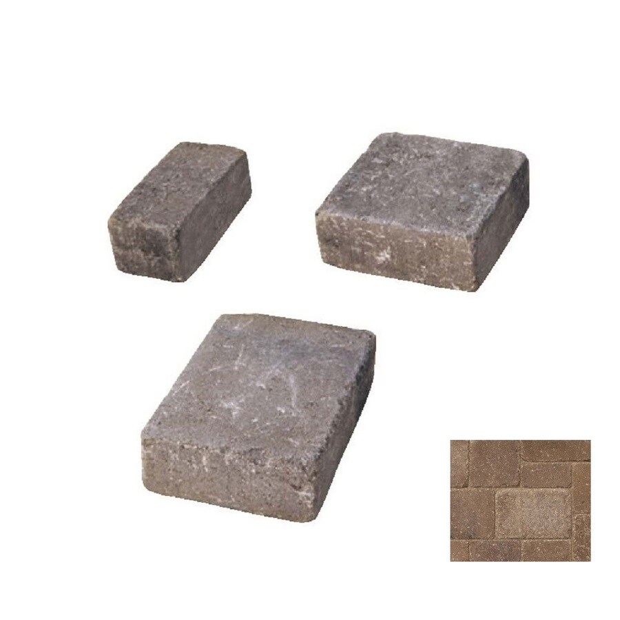 Belgard Dublin Cobble Gascony Tan Paver (Common: 6-in x 6-in; Actual: 6-in x 6-in)