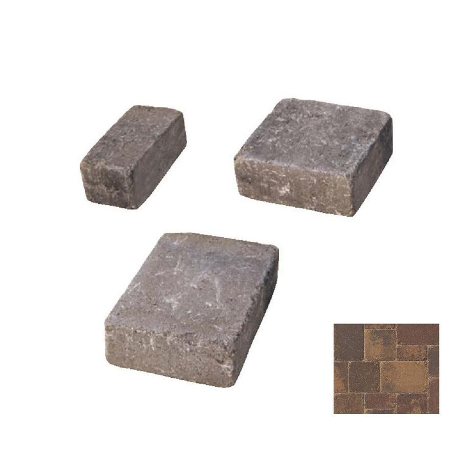 Belgard Dublin Cobble Harvest Blend Paver (Common: 6-in x 6-in; Actual: 6-in x 6-in)