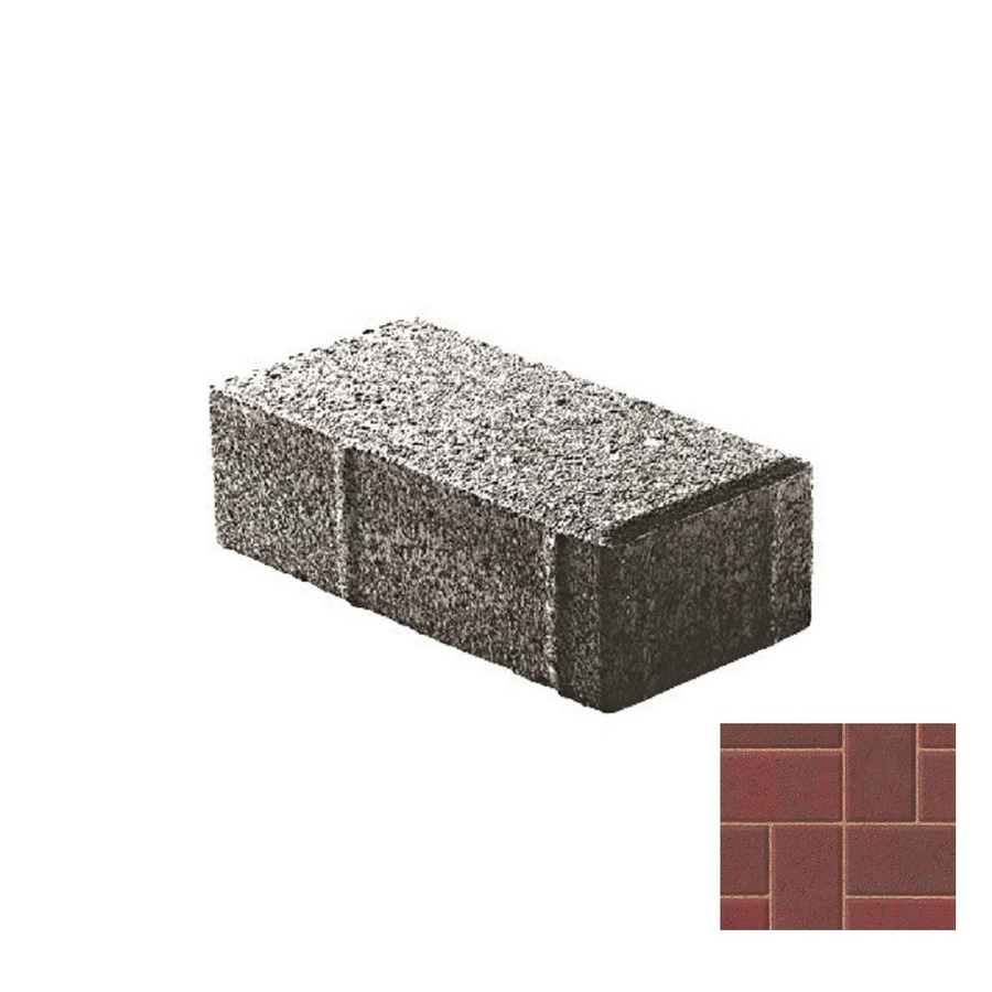 Oldcastle Holland Stone Antiqued Paver (Common: 9-in x 9-in; Actual: 9-in x 9-in)