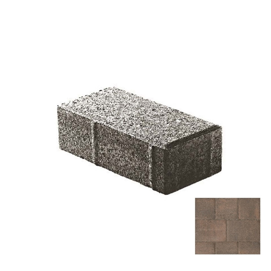Oldcastle Holland Stone Knightsbridge Paver (Common: 4-in x 8-in; Actual: 4-in x 8-in)