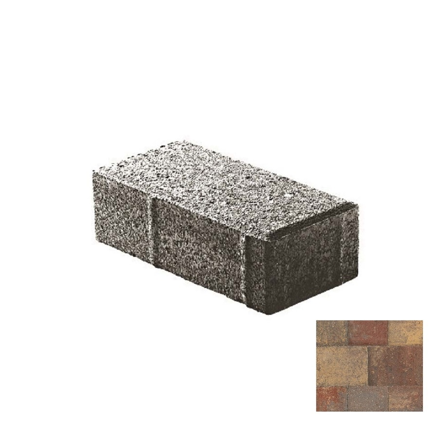Oldcastle Holland Stone Tuscany Paver (Common: 4-in x 8-in; Actual: 4-in x 8-in)