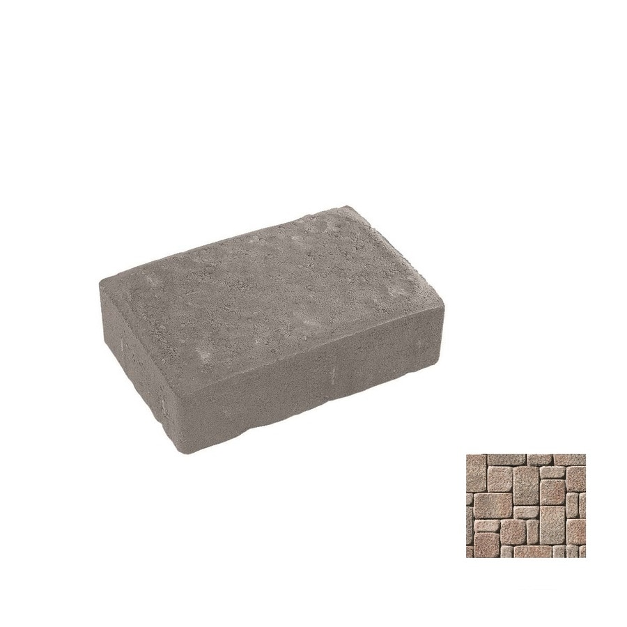 Oldcastle Kingston Ironstone Paver (Common: 6-in x 9-in; Actual: 5.5-in x 8.25-in)