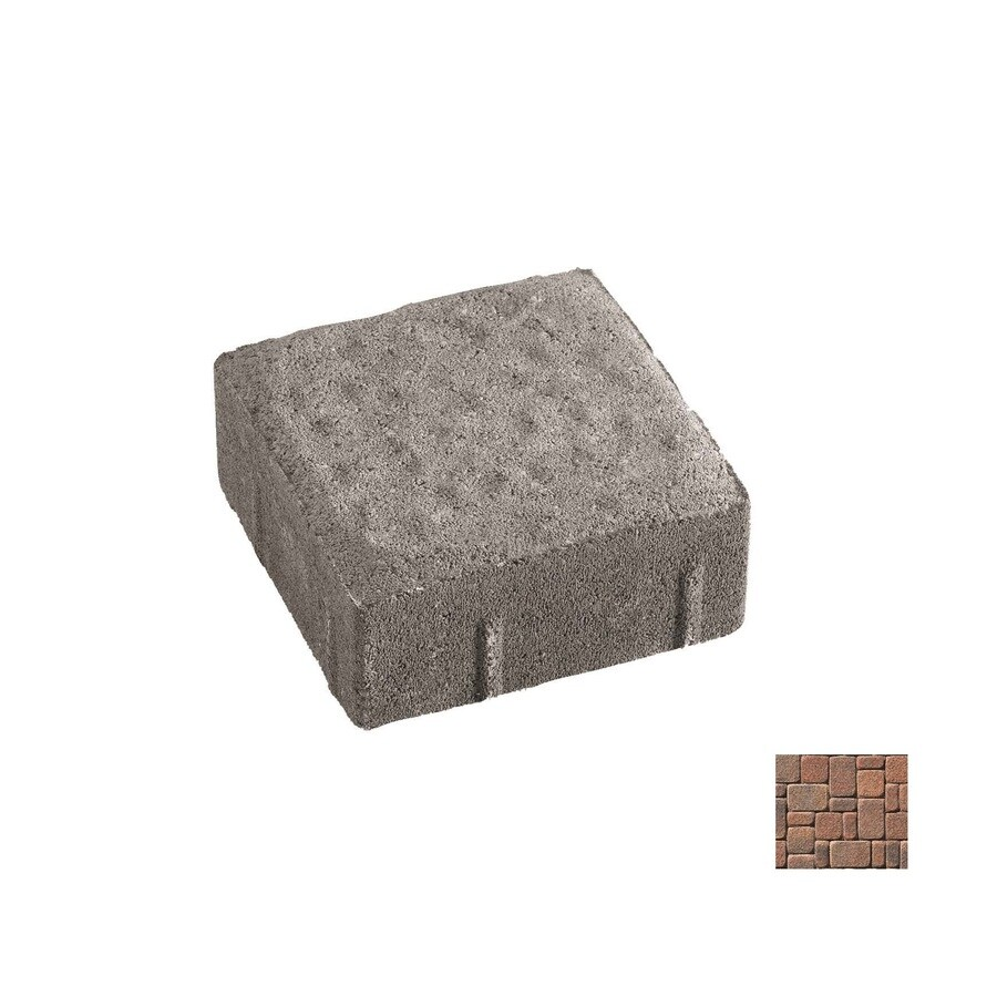 Oldcastle Kingston Autumn Blend Paver (Common: 6-in x 9-in; Actual: 5.5-in x 8.25-in)