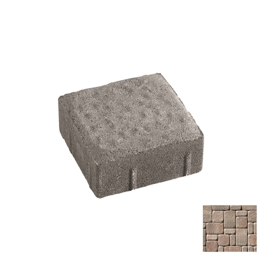Oldcastle Kingston Ironstone Paver (Common: 6-in x 6-in; Actual: 5.5-in x 5.5-in)