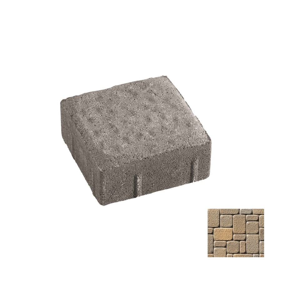 Oldcastle Kingston Northwoods Paver (Common: 6-in x 6-in; Actual: 5.5-in x 5.5-in)