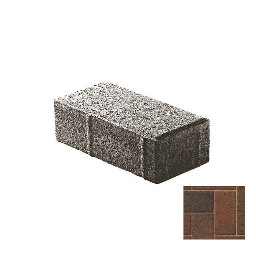 Belgard Holland Stone Guilford Paver (Common: 4-in x 4-in; Actual: 4-in x 4-in)