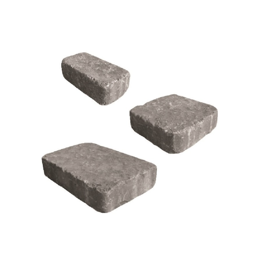 Belgard Mega-Bergerac Fossil Paver (Common: 9-in x 9-in; Actual: 9.5-in x 9.5-in)