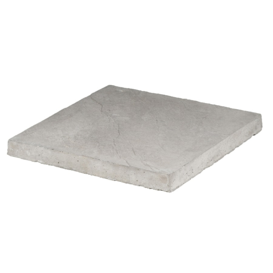 Yorkstone Gray Patio Stone (Common: 18-in x 18-in; Actual: 17.8-in x 17.8-in)