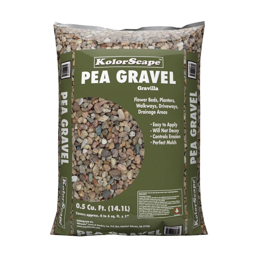Pea Gravel Landscaping Rock At Lowes Com