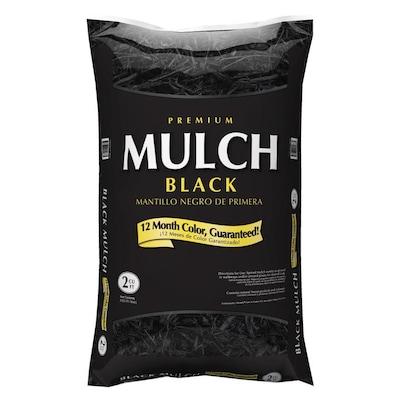 Premium 2 Cu Ft Black Hardwood Mulch At Lowes Com