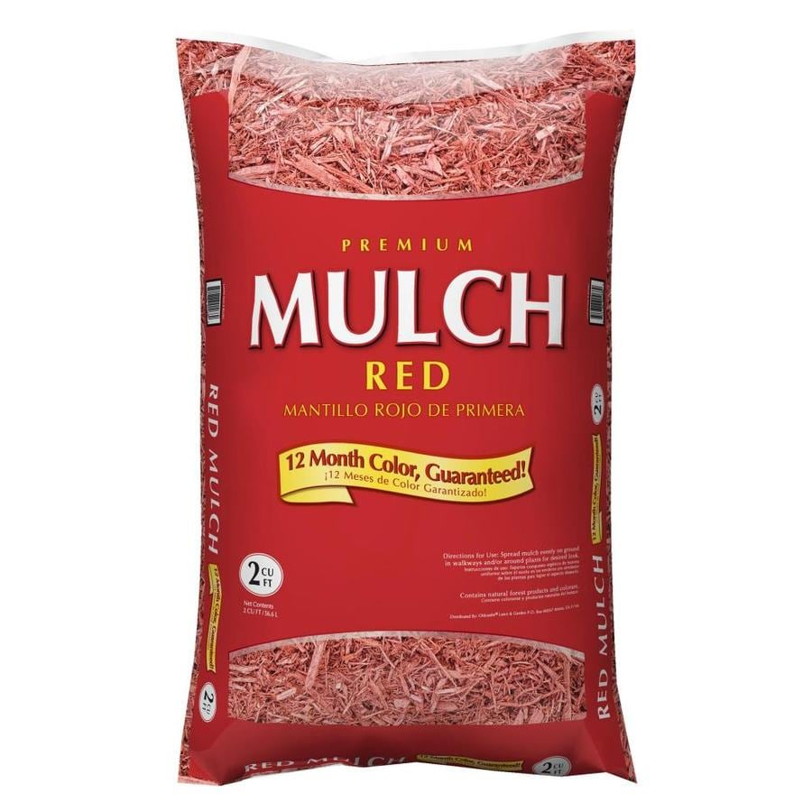Premium 2-cu ft Red Hardwood Mulch