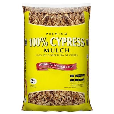 Premium 2 Cu Ft All Natural Cypress Mulch