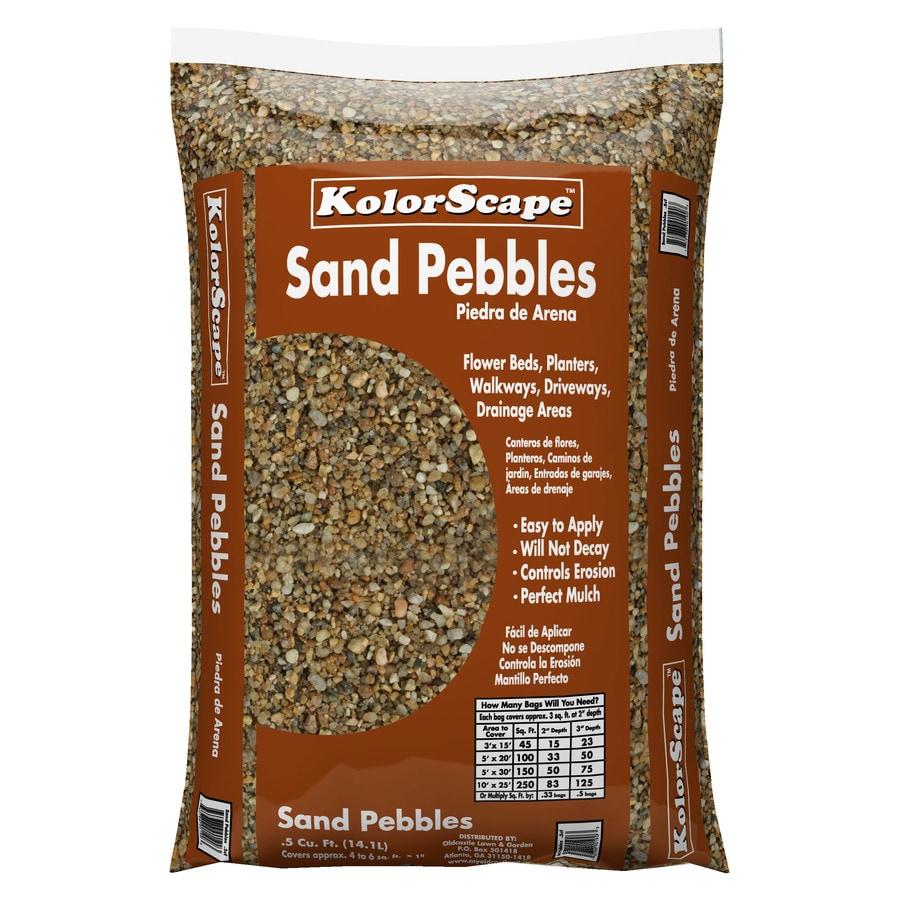Kolor Scape 0.5-cu ft Sand Pebbles