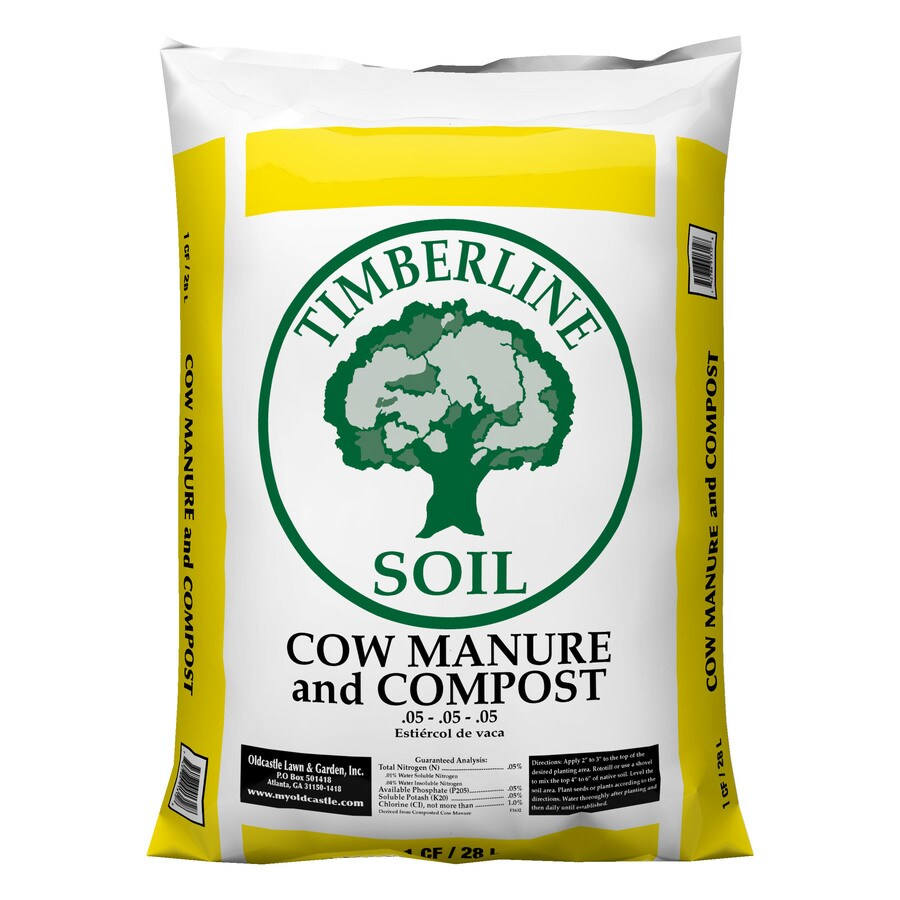 Shop oldcastle timberline 1 cu ft compost and manure at for Compost soil bags