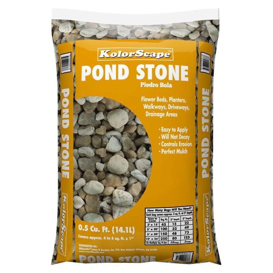 Kolor Scape 0.5-cu ft Pond Stone