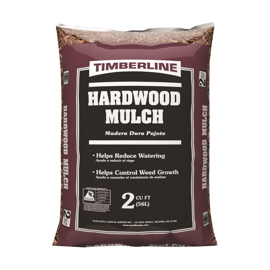 Timberline 2-cu ft Brown Hardwood Bark Mulch