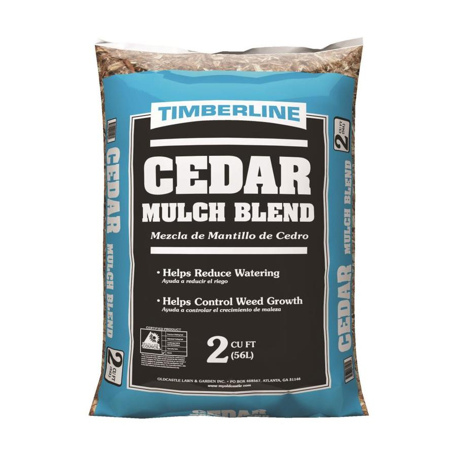 Timberline Premium 2-cu ft Brown Cedar Mulch