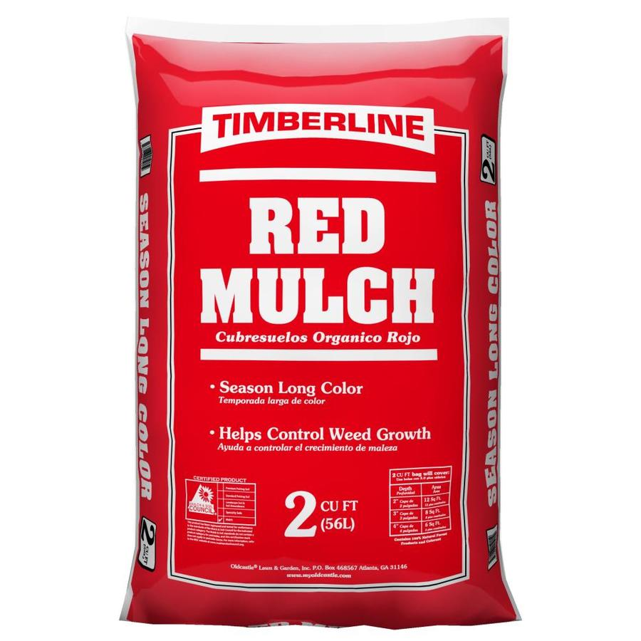 Oldcastle 2 cu ft Timberline Red Hardwood Mulch