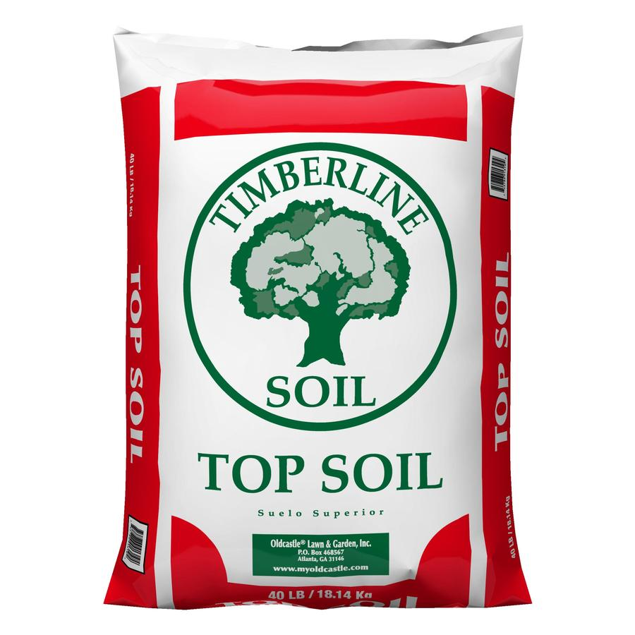 Shop timberline 40 lb top soil at for Bags of topsoil