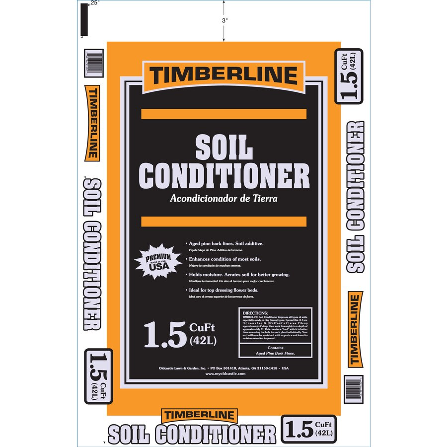 Timberline 1.5-cu ft Soil Conditioner
