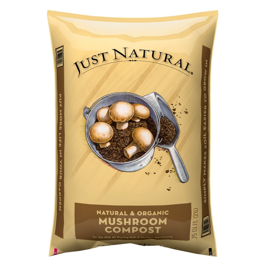 Just Natural Just Natural 0.75-cu ft Organic Compost