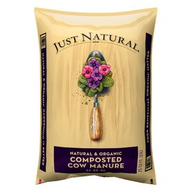 Just Natural 075 Cu Ft Cow Manure