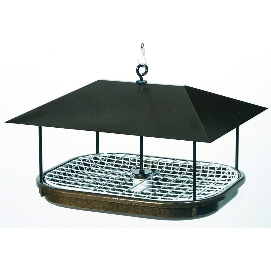 duncraft champion feeder metal platform bird feeder