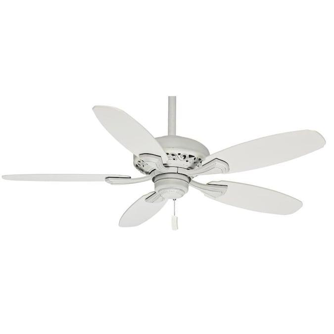 Matte White Indoor Ceiling Fan