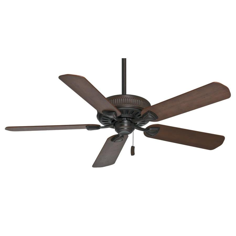 Casablanca Ainsworth 54-in Brushed Cocoa Indoor Downrod Or Close Mount Ceiling Fan ENERGY STAR