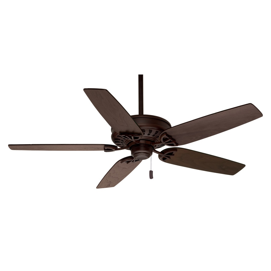 Casablanca Concentra 54-in Brushed Cocoa Downrod or Close Mount Indoor Ceiling Fan ENERGY STAR